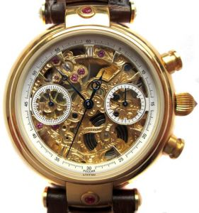Poljot Chronograph Skeleton | MoscowWatch.com