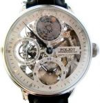 Poljot International Skeletonized Watch Globetrotter
