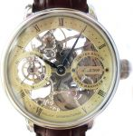 Poljot International Skeletonized Watch Tsar Nicolai-II