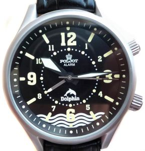 Russian Diving Watch Poljot Alarm Dolphin | MoscowWatch.com